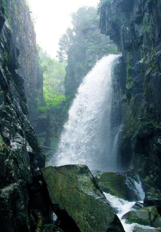 Путешествие к Байкальским водопадам