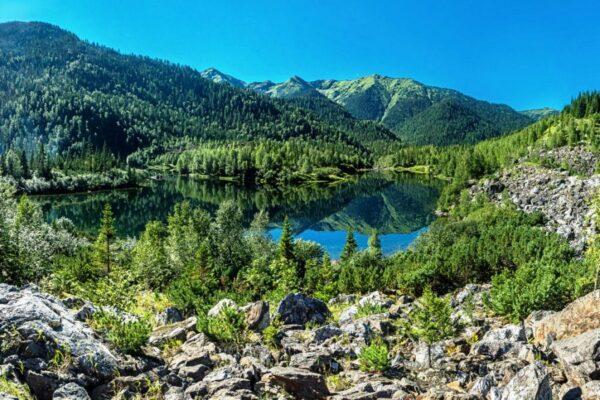 Туры в горы на озеро Соболиное